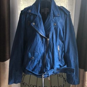 Michael Kors Leather Jacket Size 1X